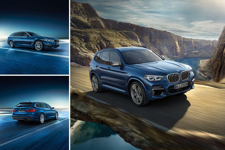 Die neuen BMW-Modelle: 5er Touring und X3