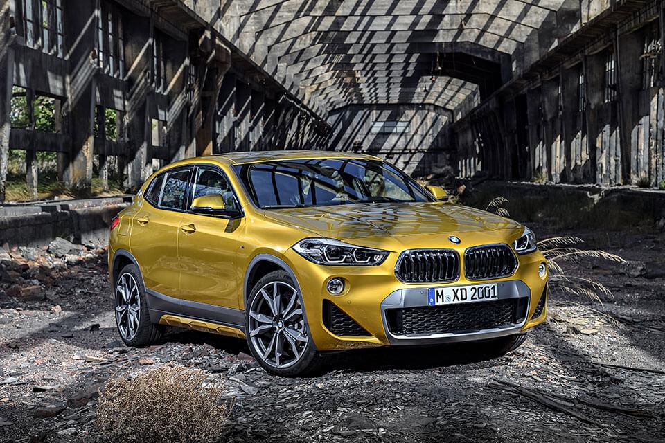 Vorfreude: Der neue BMW X2.
