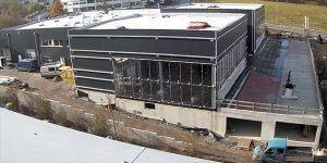 Neues Autohaus, Baufortschritt November 2017