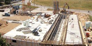 Neues Autohaus Baufortschritt Juni