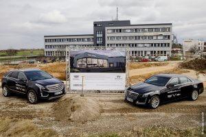 Neues Autohaus Spatenstich