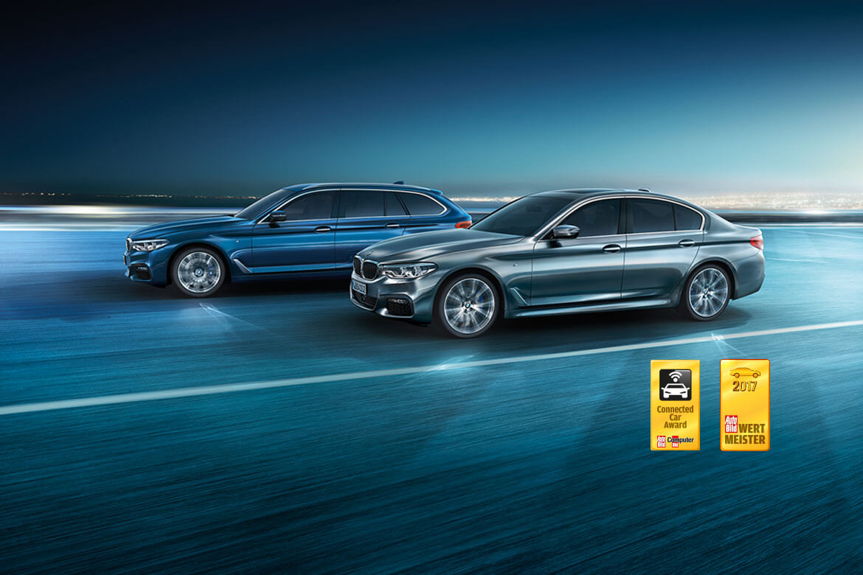 Saubermann: Die BMW 520d Limousine