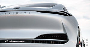 Infiniti Concept Car Heck