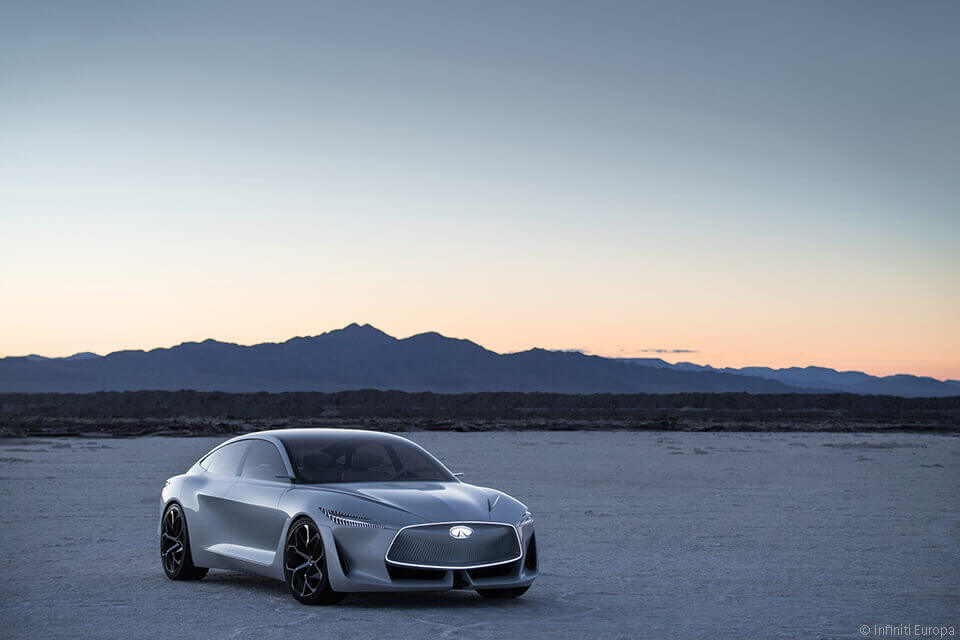 Infiniti wird elektrisch: 2021 kommt das erste Infiniti Elektrofahrzeug