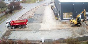 Baustellenbild 2 Dezember 2017