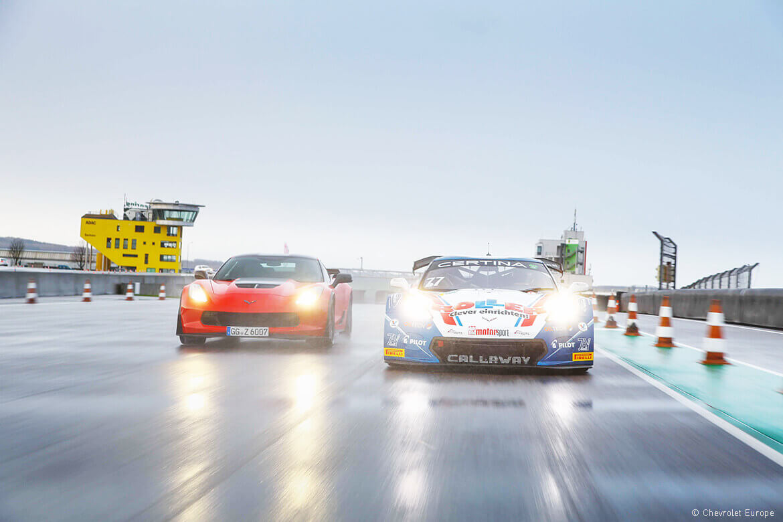 Kräftemessen am Sachsenring mit der Corvette Z06