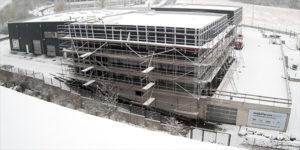 Baufortschritt Februar 3