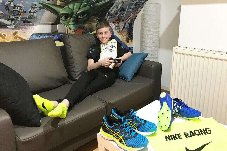 Neuer Verein, neues Edelmetall: Sporttalent Jonas Opp