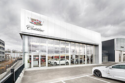Cadillac-Standort mobilforum Gruppe Dresden-Kesselsdorf – Cadillac Europe / PR