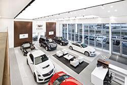 Cadillac-Standort Dresden-Kesselsdorf – Ausstellungsraum