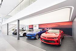 Cadillac-Standort Dresden-Kesselsdorf – Ausstellungsraum 2