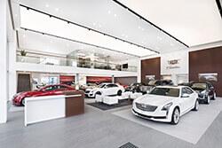 Cadillac-Standort Dresden-Kesselsdorf – Ausstellungsraum 3