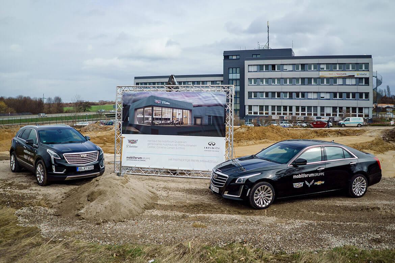Pressemitteilung: Eröffnung des neuen Autohauses in Kesselsdorf