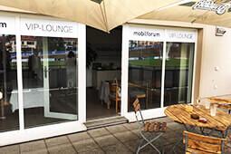 VIP-Lounge der mobilforum Gruppe beim BFV 08