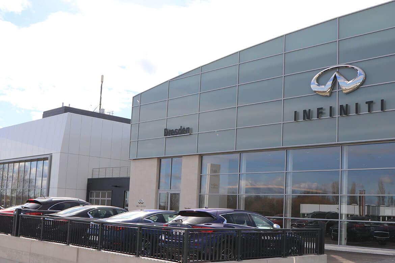 Neues Autohaus für Infiniti wird eröffnet