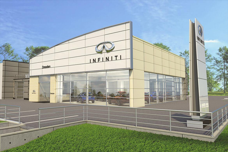 Pressetermin: Präsentation des neuen Autohauses in Kesselsdorf