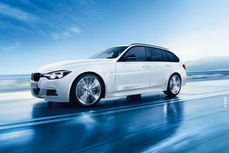 Die Stadt steht Ihnen offen: Mit dem BMW 3er Touring für Gewerbekunden mit V-Leasing für 399,- € monatlich