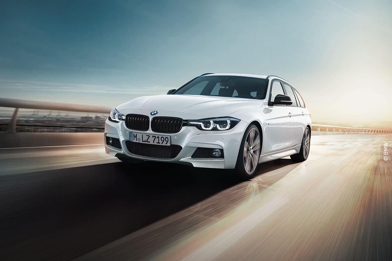 Die Stadt steht Ihnen offen: Mit dem BMW 3er Touring