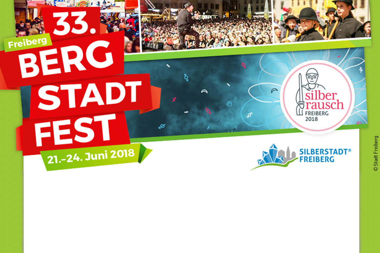 mobilforum Gruppe auf dem Bergstadtfest Freiberg 2018