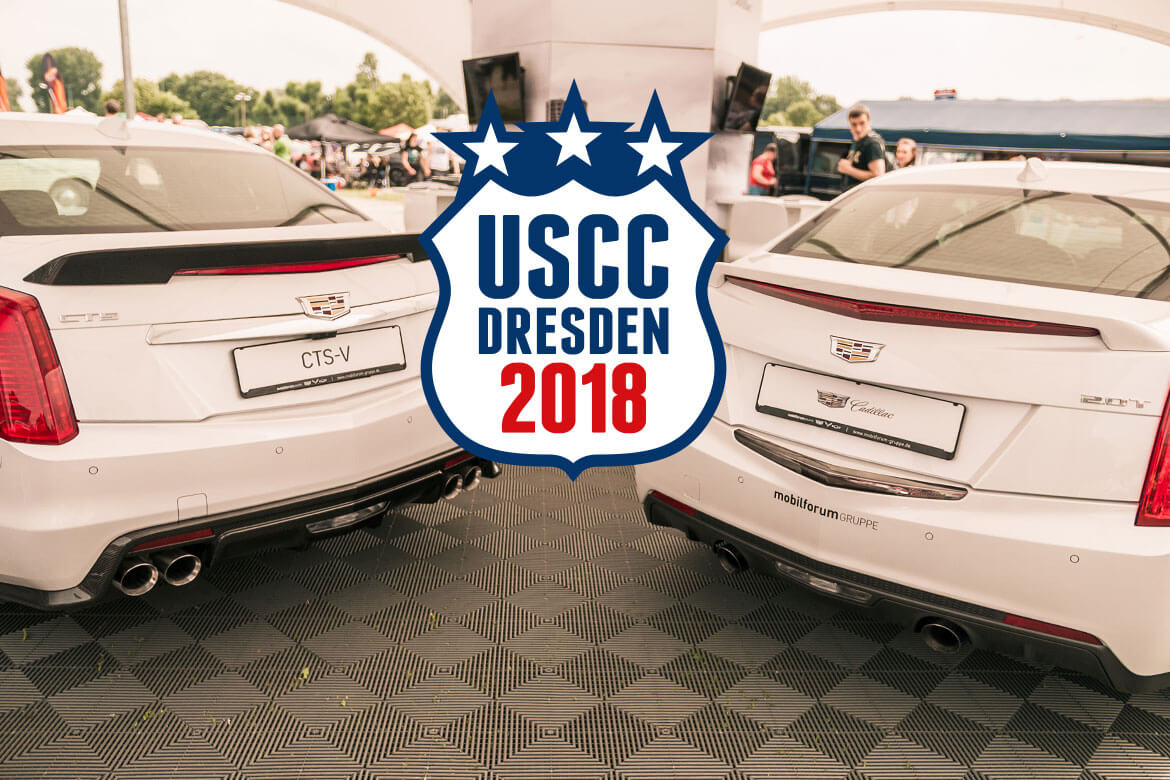 US Car Convention 2018 – mit uns!