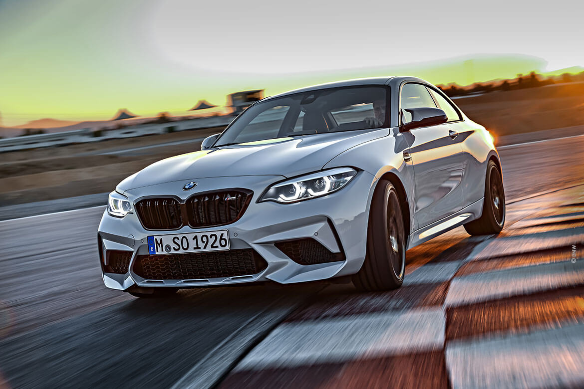 BMW M2 Competition löst M2 Coupé ab