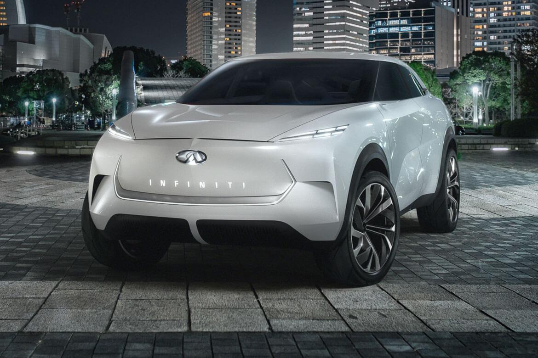 Elektrifizierende Aussichten: INFINITI stellt die Vision seines ersten vollelektrischen SUVs vor