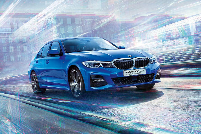 Der neue BMW 3er. Was er alles kann? Fragen Sie ihn!