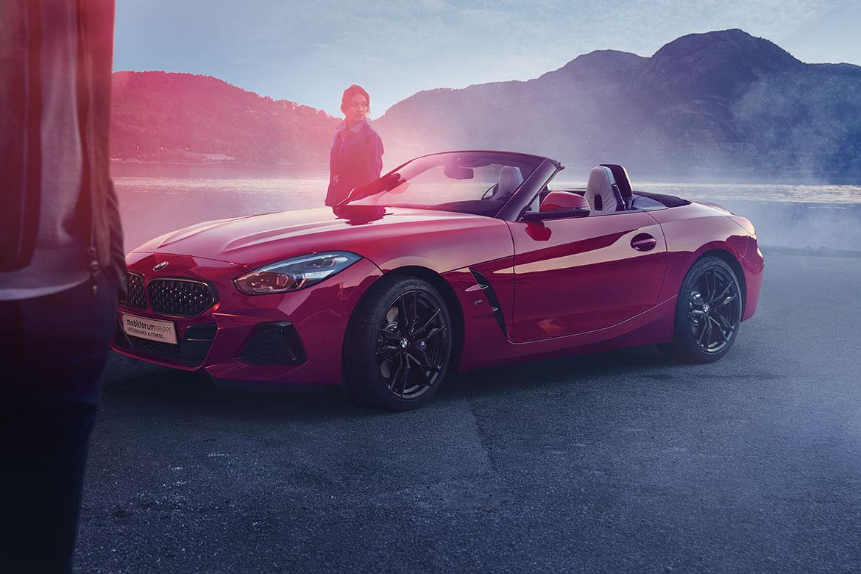 Endlich frei. Der neue BMW Z4 Roadster inklusive Wetter-Bonus.