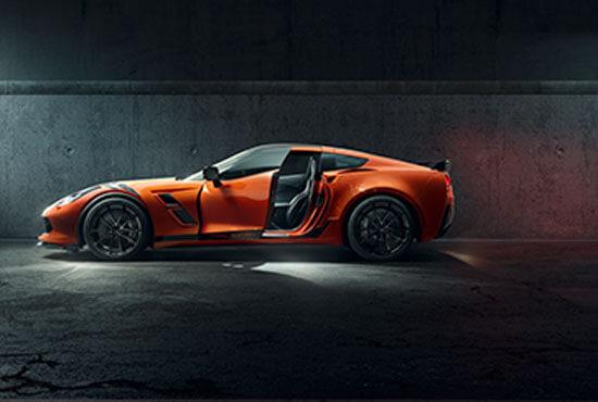 Chevrolet Corvette V8-Experience Roadshow