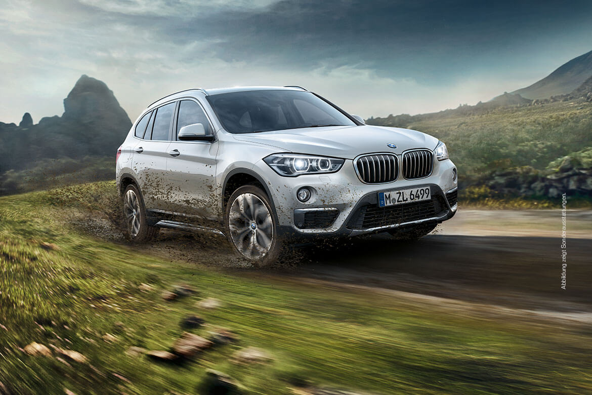 DER BMW X1. Als Modell Advantage mit Business Paket zu attraktiven Konditionen.