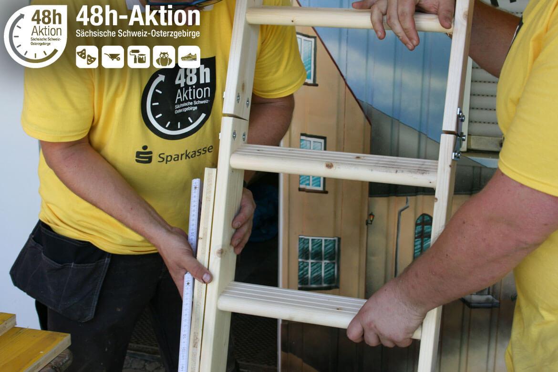 48h-Aktion: soziales Engagement junger Menschen für die Region