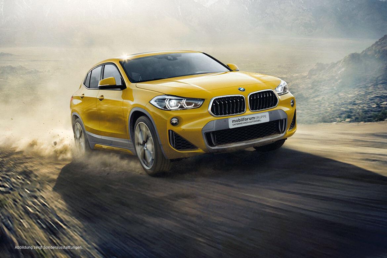 Der BMW X2. Auch mit Business Paket* zu attraktiven Konditionen.