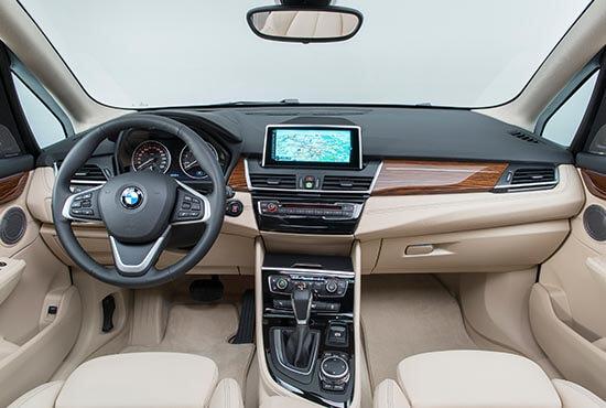 Innovative Funktionalität im BMW 2er Active Tourer