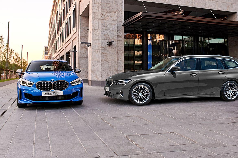 Premiere BMW 1er und 3er Touring
