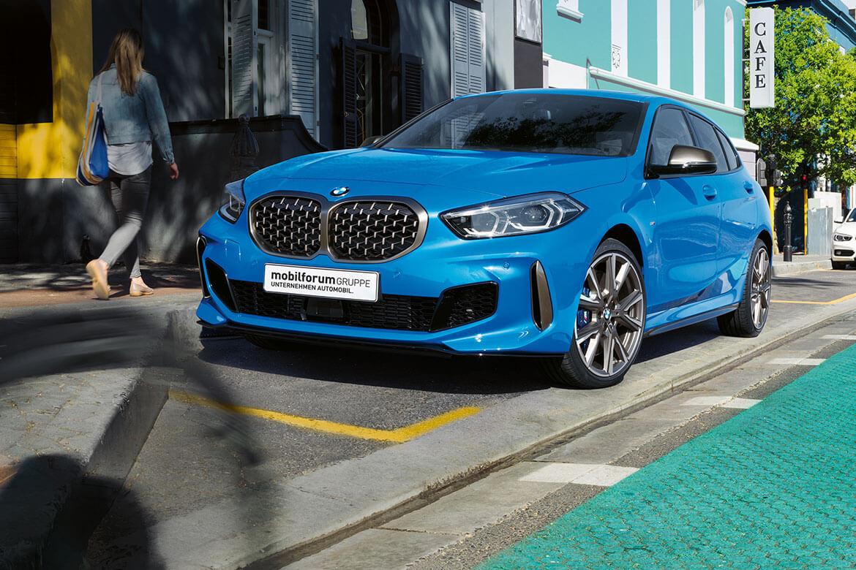 Der neue BMW 1er.
