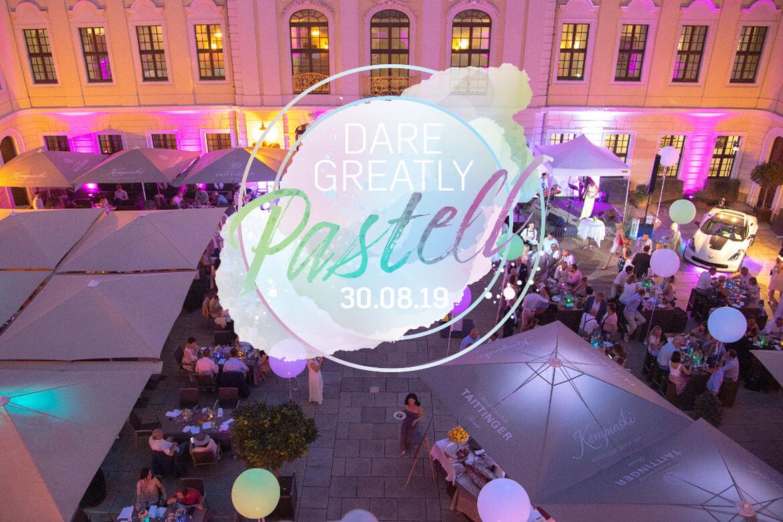 DARE GREATLY Pastell - Das Cadillac Sommerfest im Kempinski Dresden