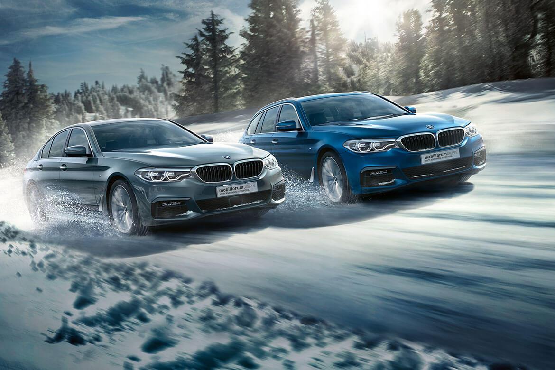 Jahresstart - BMW 5er Modelle zu attraktiven Konditionen