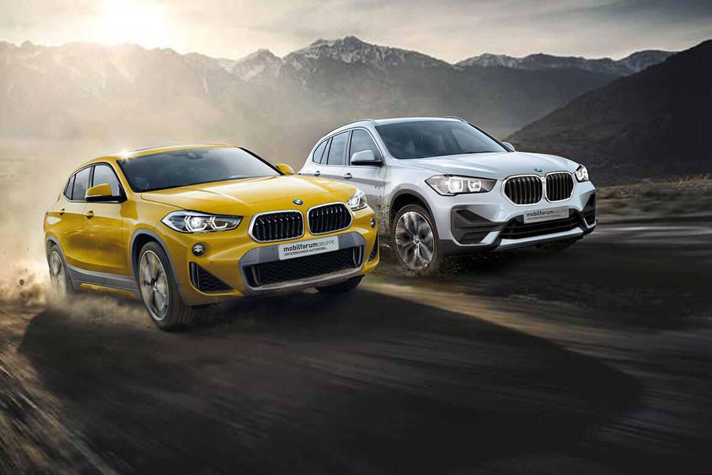 Starten Sie sportlich ins neue  Jahr - mit attraktiven Sonderkonditionen für den BMW X1 und X2