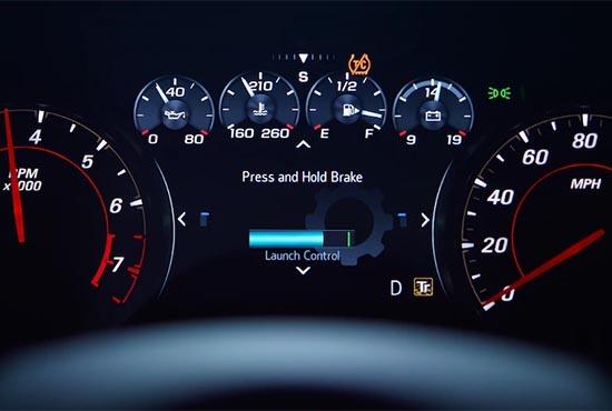 Fahrerzentrierte Technologien im 2020 Camaro
