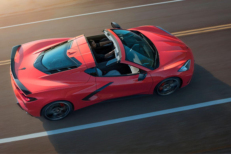 Das Resultat aus 67 Jahren Ingenieurskunst: Die Corvette C8