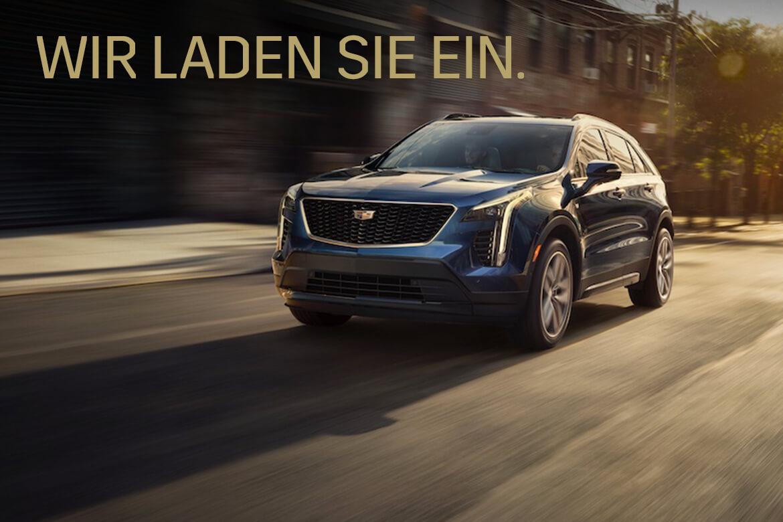 Markteinführung des neuen Cadillac XT4 – am 10. Oktober von 9-13 Uhr