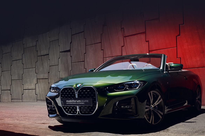 Das neue BMW 4er Cabrio. Ab 13. März bei uns.