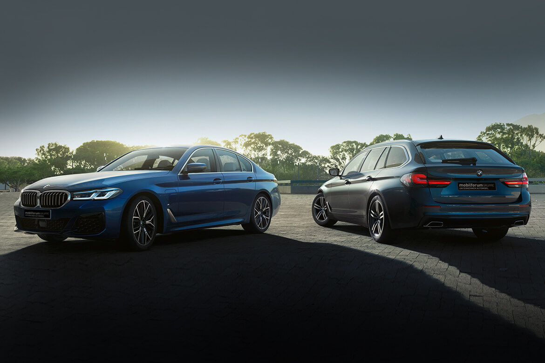 Die BMW 5er Modelle zu attraktiven Konditionen.